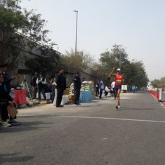 Sandeep Kumar retains men's 50 km walk, Priyanka Patel sets national Under-20 women's 10 km record