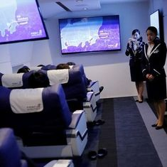 Video:  Japanese airlines company starts virtual flights from Tokyo to international destinations