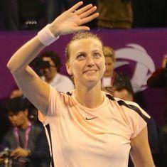 Qatar Open: Kvitova rallies to beat Wozniacki, sets up final against Muguruza
