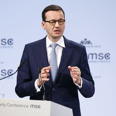Poland's prime minister draws ire for saying there were Jewish perpetrators of the Holocaust