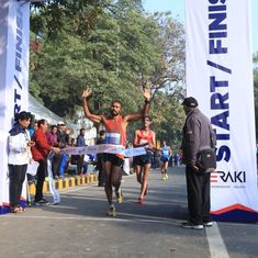 Irfan KT pips roommate Manish Rawat to win men's 20 km national racewalk title