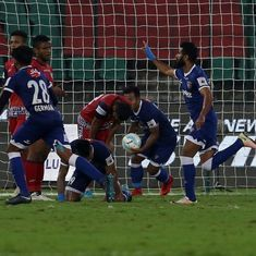 ISL: Substitute Rafi's late strike helps Chennaiyin FC draw 1-1 against Jamshedpur FC