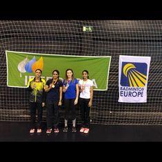 Top seed Vaishnavi Reddy cakewalks to Spanish Junior badminton title