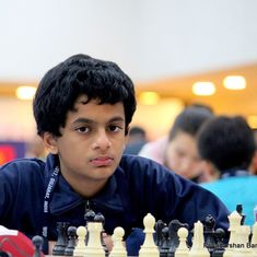 Nihal Sarin becomes India's 53rd Grandmaster with a draw in the 8th round at Abu Dhabi Masters Chess