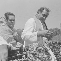 On the road with Rajiv Gandhi (who often drove his car himself): A journalist remembers
