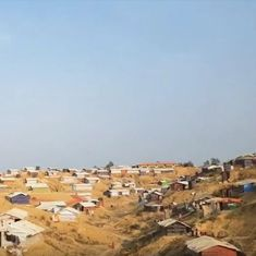 This video reveals the living conditions for Rohingya refugees in a camp in Bangladesh