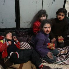 Syrian war: Unicef issues blank statement expressing outrage against child casualties