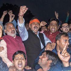 अरविंद केजरीवाल के घर के बाहर भाजपा कार्यकर्ताओं का विरोध प्रदर्शन, कई हिरासत में लिए गए