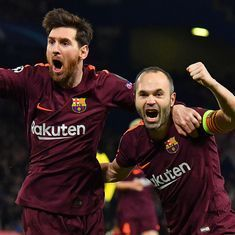 Champions League: Messi ends Chelsea drought to hand Barcelona an away goal advantage