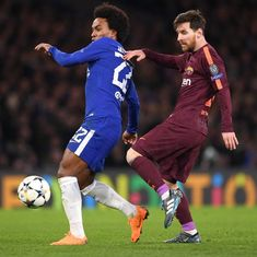 Messi off the mark, Willian's revival, false nine: Talking points from Chelsea vs Barcelona