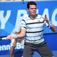 Milos Raonic's  struggles continue as he pulls out of French Open with knee injury
