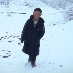 Watch: A child nicknamed 'Ice Boy' is recognised as China's youngest face of poverty