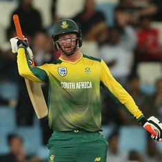Klaasen, Duminy smash fifties as South Africa win by six wickets to level the T20I series