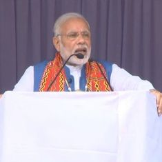 'My vision for the North East is transformation by transportation': Narendra Modi at Nagaland rally
