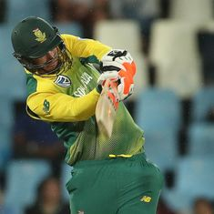 Klaasen to replace injured wicketkeeper Second in South Africa's Test squad for India tour