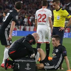 Jose Mourinho admits concern over Ander Herrera's 'bad injury' during Sevilla draw