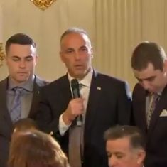 Watch: Father of student killed in Florida school shooting delivers an emotional speech to Trump