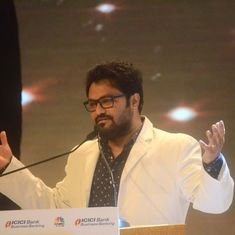 Bollywood should temporarily ban Pakistani artists, says Union minister Babul Supriyo