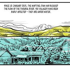 'There's no harvest': This graphic novel captures how dams have wrecked lives in India's North East