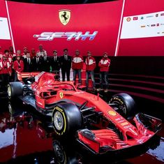 Ferrari unveil new SF-71H car for 2018 season, hope to end 10-year title wait