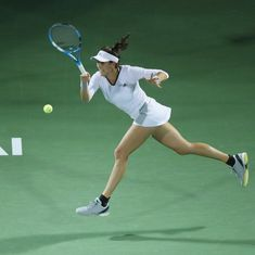 Muguruza eases past Garcia into Dubai Championships last-four, Kerber sets up Svitolina clash