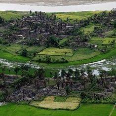 क्या म्यांमार ने रोहिंग्या मुस्लिमों के गांव ढहा दिए हैं?