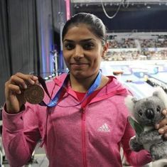 Aruna Reddy becomes first Indian to win an individual medal at Gymnastics World Cup