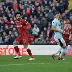 Salah fires Liverpool to 4-1 win over West Ham, takes them to second place in Premier League