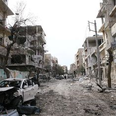 Syrian government forces continue to bombard Ghouta despite UN ceasefire deal, toll rises to 520