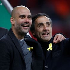 'If I broke the rules, I'll accept the fine': Guardiola defends wearing yellow ribbon