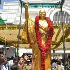 AIADMK to make changes to Jayalalithaa's statue after complaints that it does not resemble her