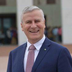 Michael McCormack replaces Barnaby Joyce as Australia's deputy prime minister