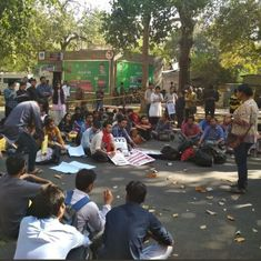 TISS strike: Students in Delhi march in solidarity with peers, submit letter to HRD minister