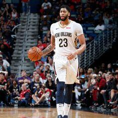 NBA: Anthony Davis spearheads Pelicans' sixth straight win, Warriors trounce Knicks