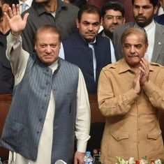 Pakistan's ruling party selects Nawaz Sharif as life leader, his brother as chief
