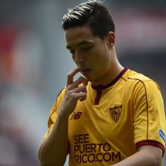 France midfielder Samir Nasri handed six-month doping ban by Uefa