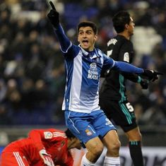 Moreno strikes stoppage-time winner for Espanyol as Real suffer another La Liga defeat