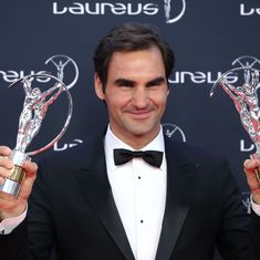Roger Federer picks up two awards to become the most decorated Laureus athlete