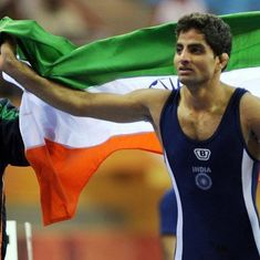 Asian Wrestling: Rajender Kumar opens India's account with bronze in 55kg Greco-Roman category