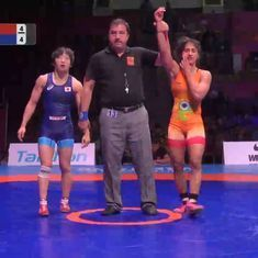 Vinesh Phogat through to final of Asian Wrestling Championships