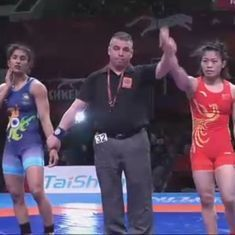 Vinesh Phogat loses a tight final bout, clinches silver medal at Asian Wrestling Championships