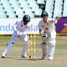 South Africa keep Australia's batsmen in check on opening day of first Test