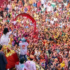 In photos: A riot of colours as people celebrate Holi across the country