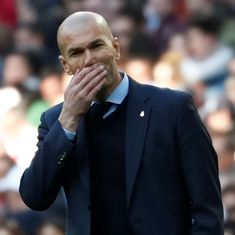 La Liga: Zidane fumes as Madrid slump to 0-1 defeat against struggling Vallecano