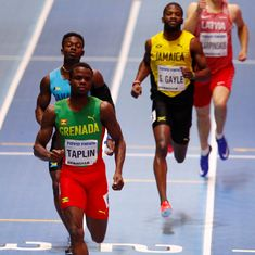 All five runners disqualified in men's 400m heat at World Indoor Championships