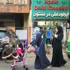 काबुल, जो दिल्ली में बसता है