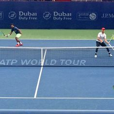 DDF Tennis: Leander Paes-Jamie Cerretani falter at the final hurdle in men's doubles