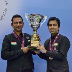 Advani and Chandra clinch a thriller against Pakistan to win inaugural Snooker Team World Cup
