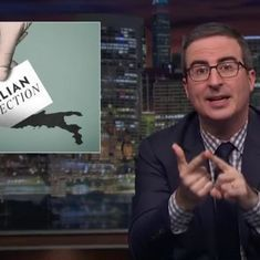 Watch: When John Oliver announced his (fake) candidature for the Italian elections