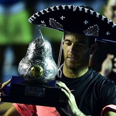 Juan Martin del Potro lifts his biggest title in 4 years beating Anderson in Acapulco